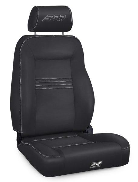 Spec Suspension Seat, Driver's Side in Black Vinyl