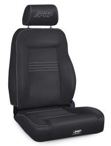 Spec Suspension Seat, Passenger's Side in Black Vinyl