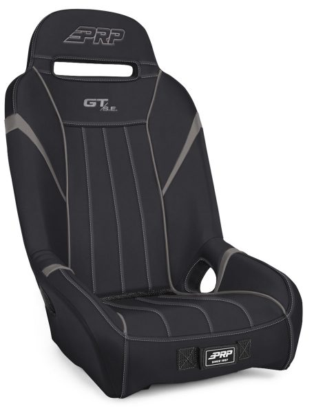 1 inch, Extra Wide GTSE Suspension Seat in Black and Grey