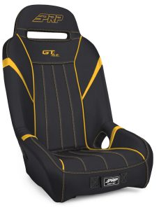 1 inch, Extra Wide GTSE Suspension Seat in Black and Yellow