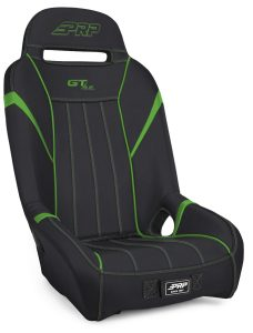 1 inch, Extra Wide GTSE Suspension Seat in Black and Green