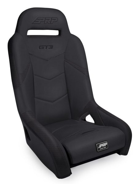 GT3 1000 Rear Suspension Seat for Polaris in All Black