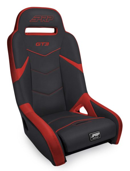 GT3 1000 Rear Suspension Seat for Polaris in Red