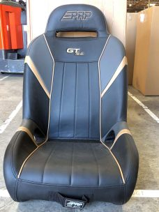 GTSE Seat pairs for RZR 1000 - Black, Grey and Gold