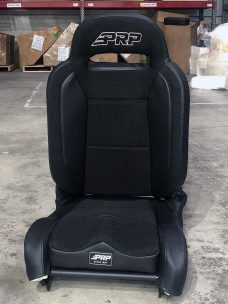 Enduro Elite Recliner Single Seat in all black