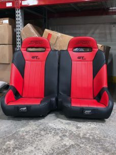 GTSE 50/50 Bench for RZR 1000 in Black and Red