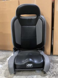 Enduro elite recliner in grey and black