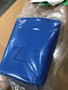 Daytona blue door latch pads for Yamaha YXZ