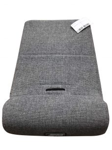 Comp Pro Seat Cushion with Gray Cover and White Stitching