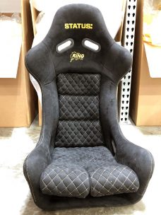 Status Ring GTX seat in Black with Gold stitching