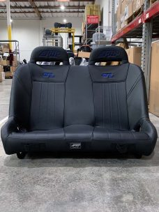 RZR 1000 Bench - Black with Blue Logos