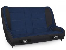 Elite Series Rear Bench for CJ7-YJ - Black and Blue