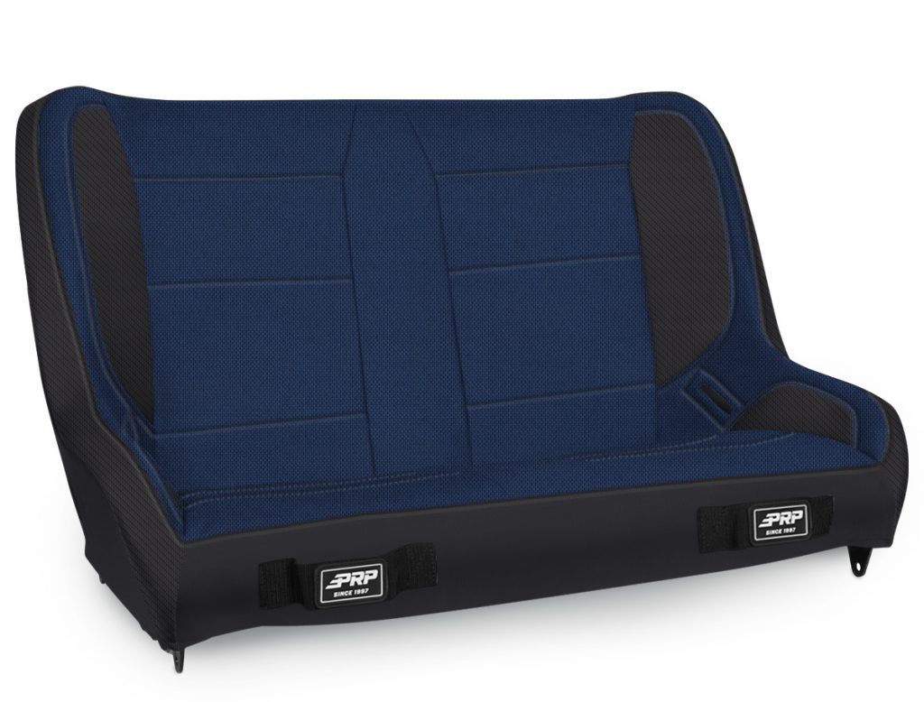 Elite Series Rear Bench for TJ - Black and Blue