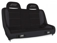 Elite Series Rear Bench for Jeep JKU - All Black