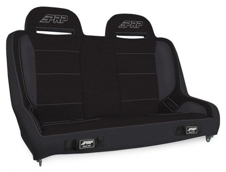 Elite Series Rear Bench for Jeep JKU - All Black