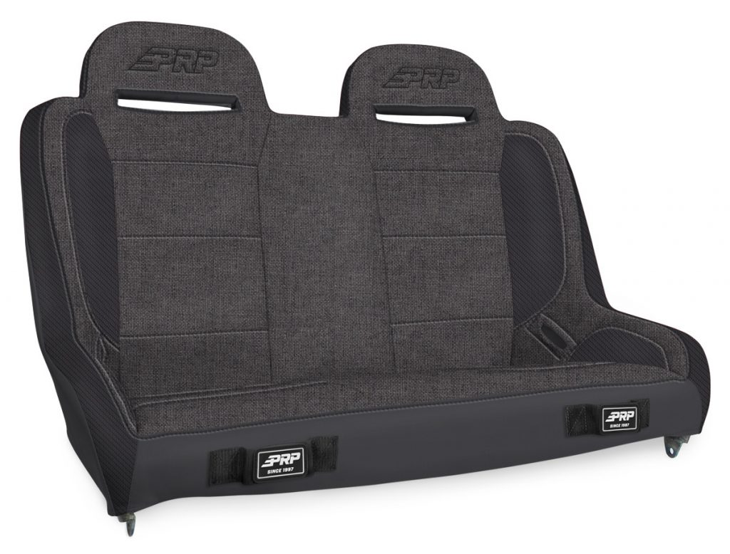 Elite Series Rear Bench for Jeep JKU - All Grey
