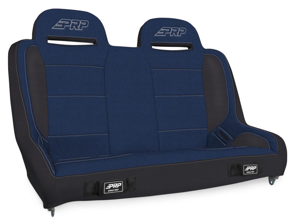 Elite Series Rear Bench for Jeep JKU - Black and Blue