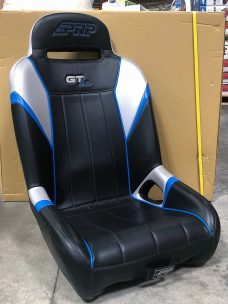 Grey and Blue GTSE XW Seat