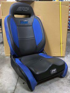 Enduro Elite Blue and Black Seat