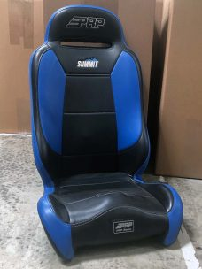 Summit Elite Single Blue and Black Seat