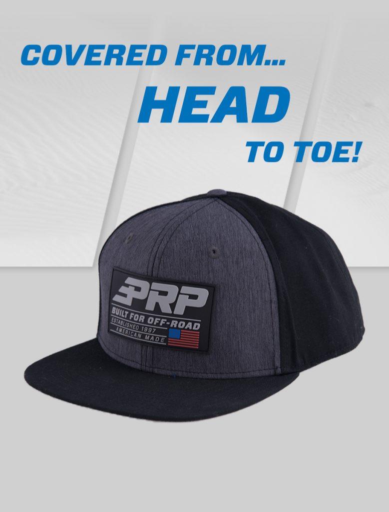 Prp Hat on grey prp speed background