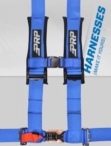 make it your harness on grey prp speed background