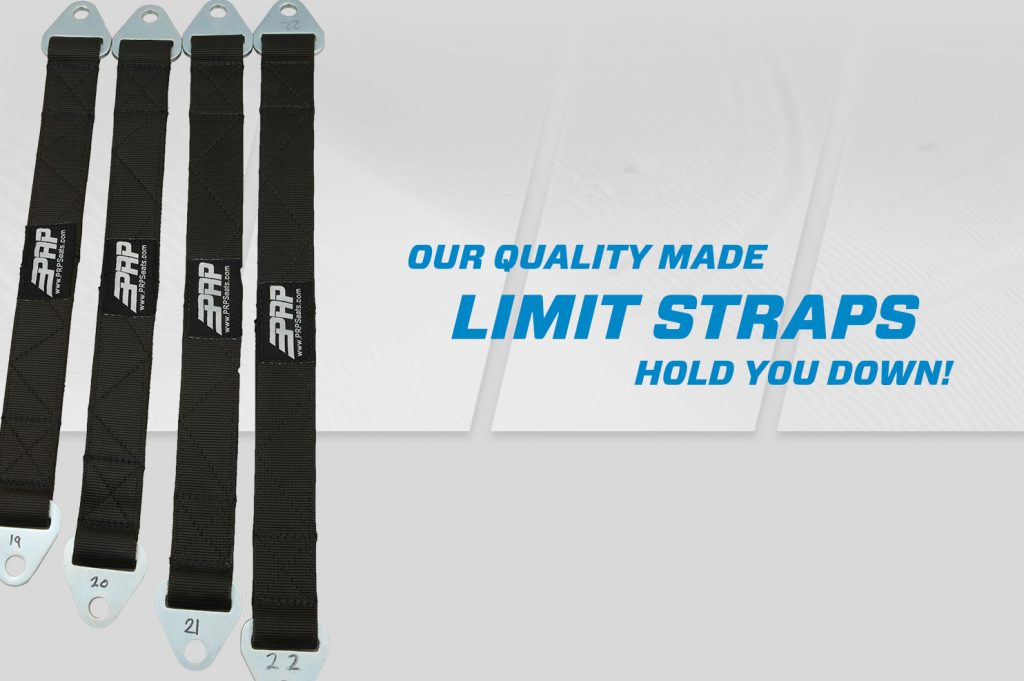 limit straps with grey prp speed background