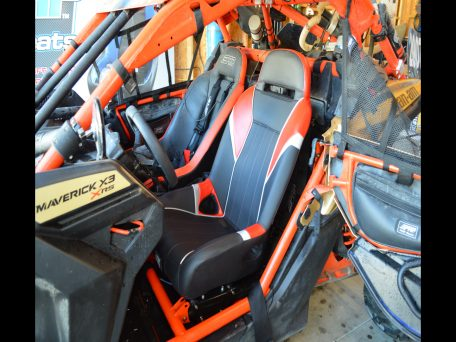 PRP GT/S.E. Seats installed in a Can-Am X3
