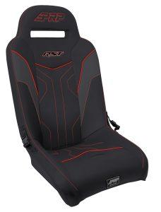 RST Suspension Seat for Polaris RZR - Red Trim