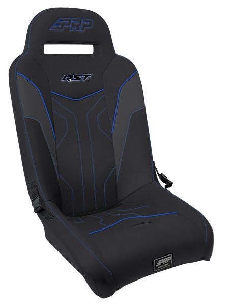 RST Suspension Seat for Polaris RZR - Blue Trim