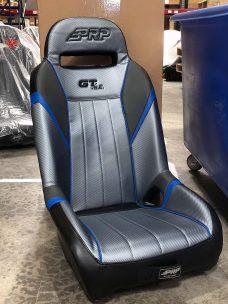 GTSE Single Seat Black and Blue