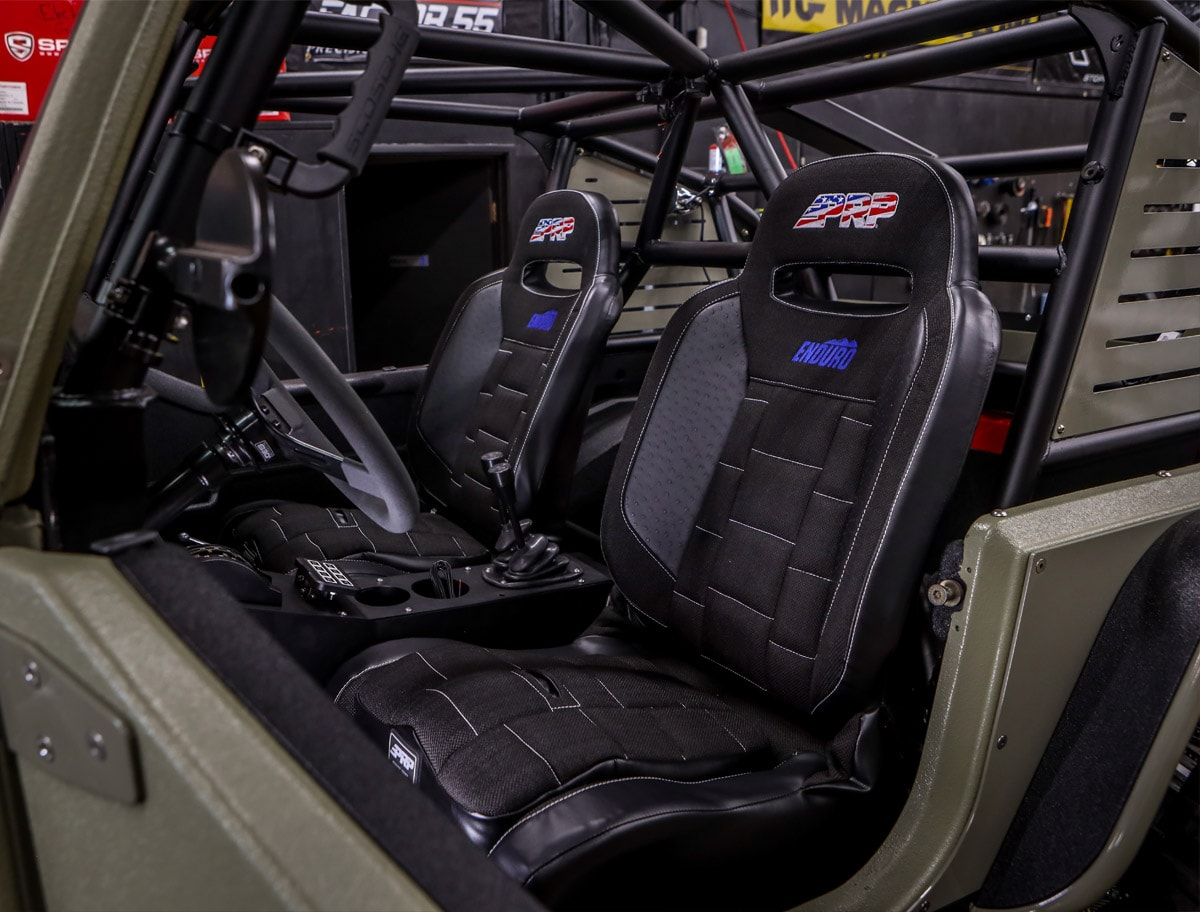 PRP Enduro Jeep Seats