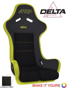 PRP's Delta Composite Seat with Carbon Fiber Shell