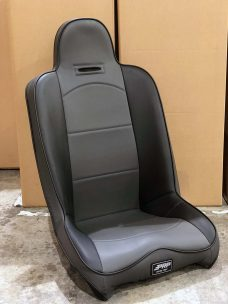 Black and Grey Rhino Teryx Highback Single Seat Warehouse Deal CSS-373