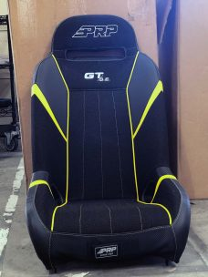 CSS-396 GTSE RZR 1000 Black and Yellow Pair