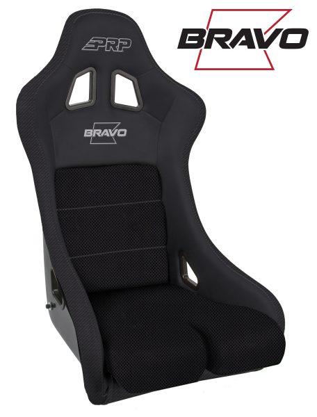 Bravo Composite Seat - Black