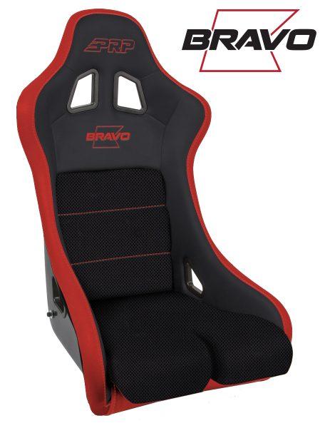 Bravo Composite Seat - Red