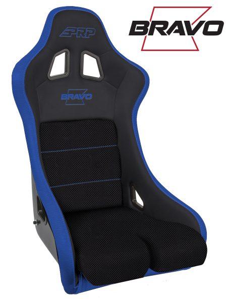 Bravo Composite Seat - Blue