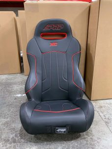 Warehouse Deal CSS-413 - Black and Red XC Rear Seat