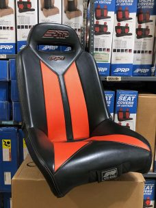 Warehouse Deal CSS-415 - Black and Orange RS Seat