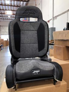 Warehouse Deal CSS-416 - Gray Tweed and Black Enduro Elite