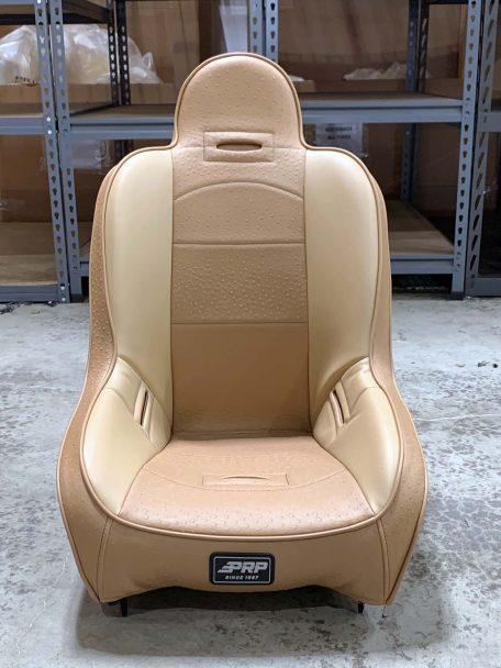 Warehouse Deal CSS-419 - Tan Ostrich pattern and Beigh Premier Highback