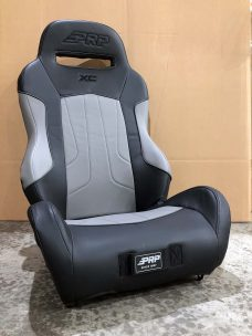 Warehouse Deals Seats CSS-422 Grey and Black XC Suspension Seat