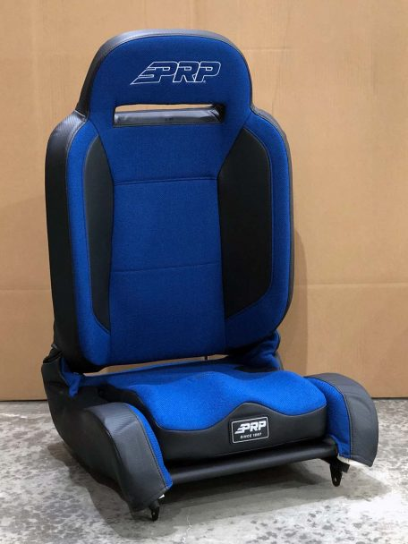 Warehouse Deals Seats CSS-435 Black and Blue Enduro Elite Seat