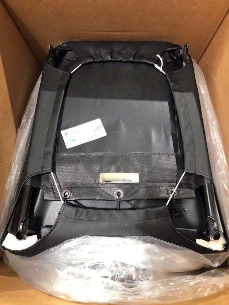 Warehouse Deals Seats CSS-436 Black Premier HB Seat - Bottom angle view
