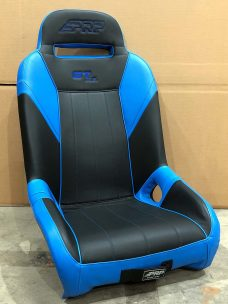 CSS 458 Blue and Black GTSE RZR 1000 Extra Wide Seat