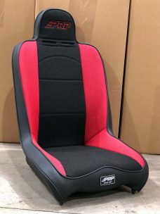 CSS 461 Red and Black Tweed Daily Driver Seat