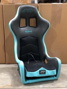 CSS 462 light blue and black Extra Wide Seat