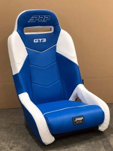 CSS 463 Blue and White GT3 PRO XP Seat Pair