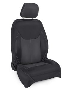 2013 to 2017 Black Grey Seat Cover for Jeep Wrangler